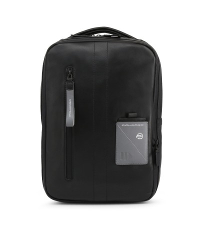 Piquadro Logo-patch Medium Backpack