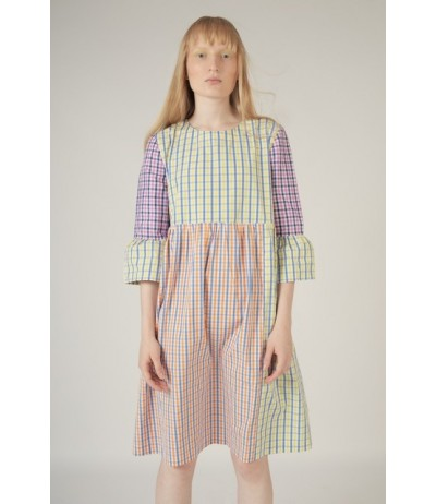 Rosé a Pois Women's striped  dress