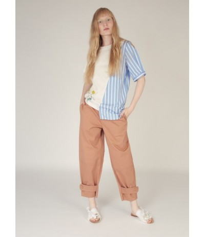 Rosé a Pois Women's Cotton Pants