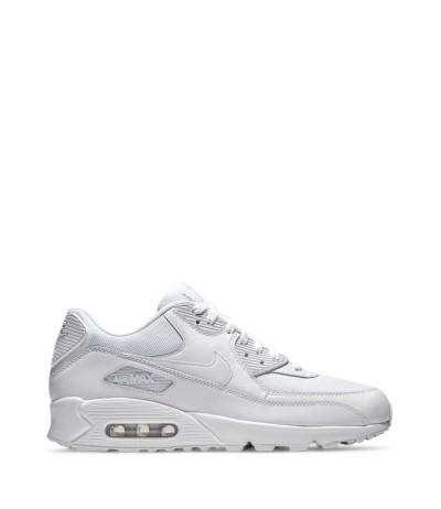 Nike Men's White 'air Max 90 Leather' Sneakers
