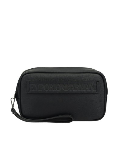 Emporio Armani Men's  Wash Bag Black