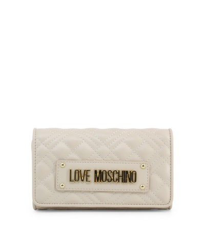 Love Moschino White Polyester Wallet