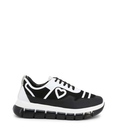Love Moschino trendy sneakers with rubber platform