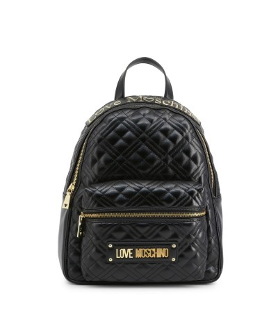 Love Moschino Backpack with One external zip pocket