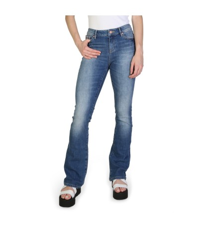 Armani Exchange  High-rise Stretch-denim Jeans
