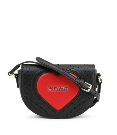 Love Moschino Heart Details Ladies Romantic Bag