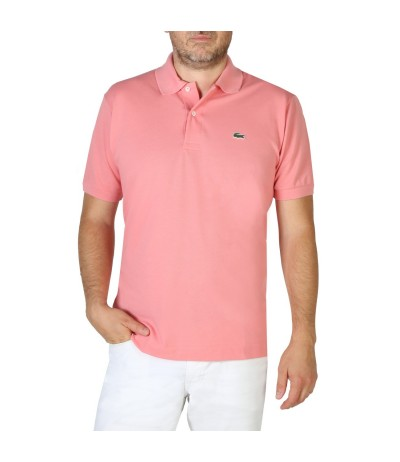 Lacoste  Short Sleeve Pique Polo Shirt  Pink