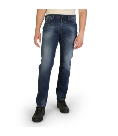 Diesel  Medium Wash Straight Leg - Blue