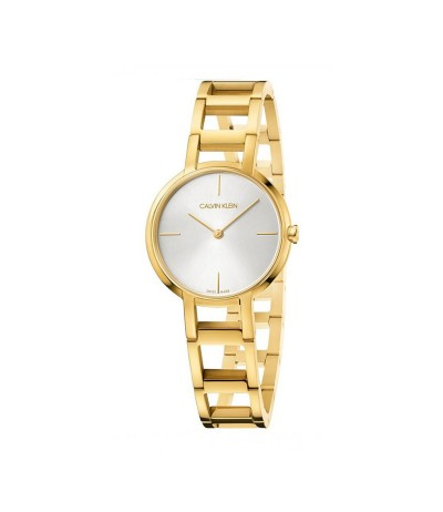 Calvin Klein Cheers Quartz Silver Dial Ladies Watch - Metallic