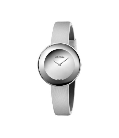 Calvin Klein Chic Mirror Dial Ladies Watch - Metallic