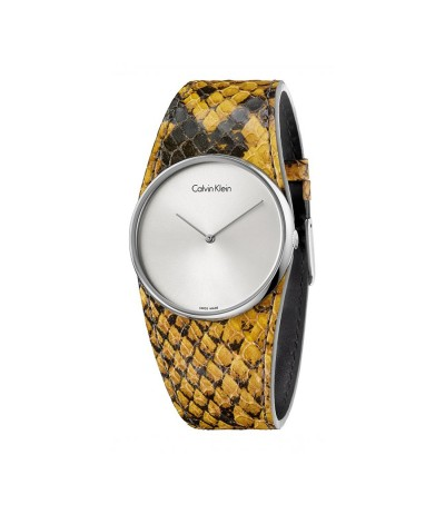 Calvin Klein Spellbound Silver Dial Ladies Watch - Metallic