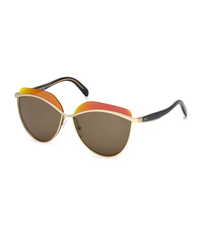Emilio Pucci Geometric Frame Sunglasses - Orange