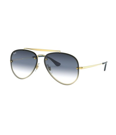 Ray-BanTwo-tone Aviator-frame Sunglasses - Metallic