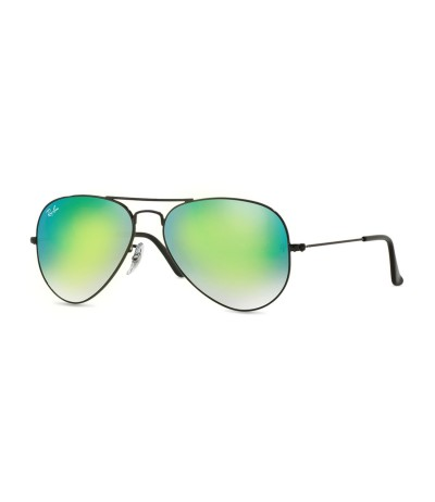 Ray-Ban Large Metal Aviator Sunglasses - Green