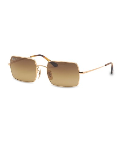 Ray-Ban Unisex Square Frame Sunglasses - Brown