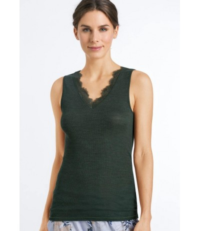 Hanro Woolen Lace - Sleeveless Top
