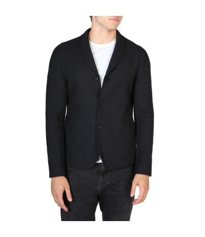 Emporio Armani Paneled Slim-fit Jacket