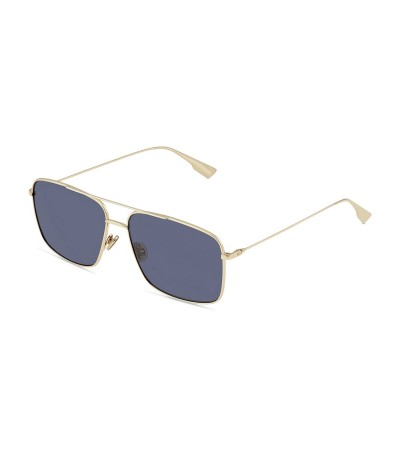 Dior Gold And Blue Stellaire  Sunglasses