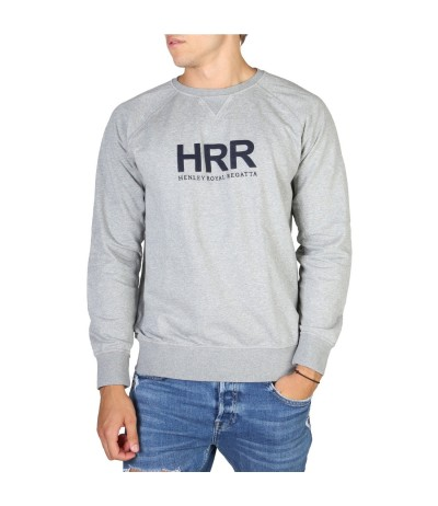 Hackett Henley Royal Regatta Sweater - Gray