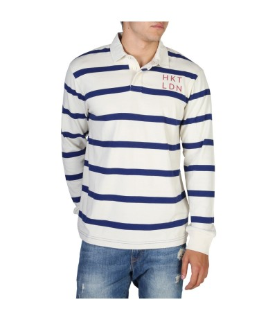 Hackett Striped Longsleeve  Polo Shirt