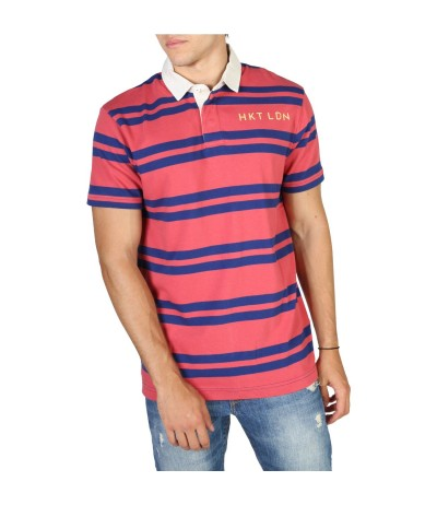 Hackett Block Stripe Polo Shirt