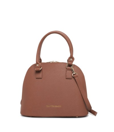 Trussardi Medium Fantastica Dome Leather Bag