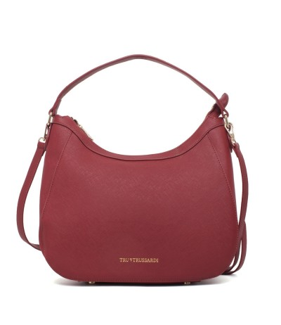 Trussardi Hobo Bag  With Detachable Shoulder Strap