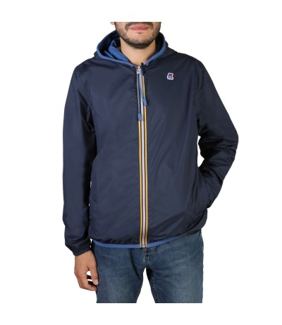 K-Way Jacques Nylon Jersey Blue Jacket