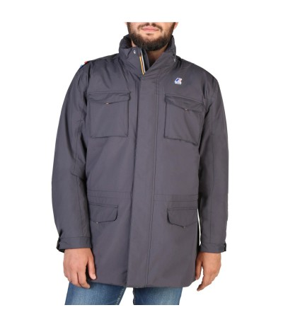 K-Way Manfield Ripstop Marmotta Gray Jacket