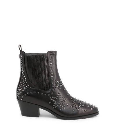 Liu Jo ankle boot in leather with all-over stars