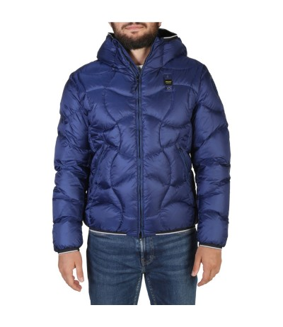 Blauer Men's Quilted Jacket in  Blue