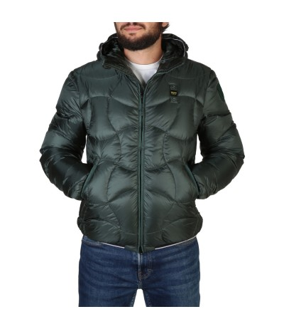 Blauer Slim-fit  Jacket With Detachable Logo-print Hood