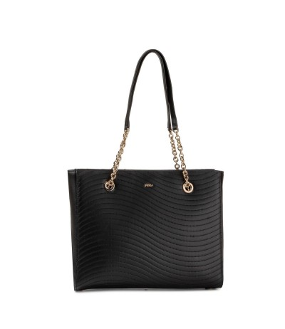 Furla Medium Top Handle Bag in black