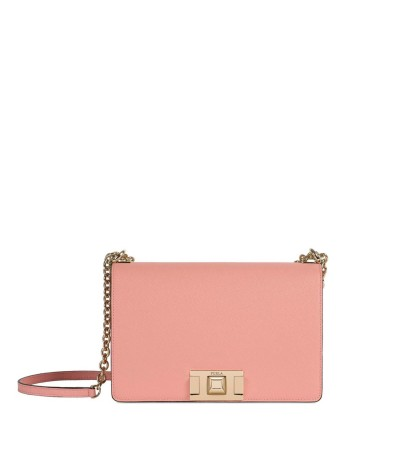 Furla Structured Shoulder Bag - Pink