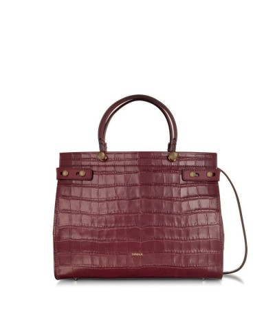 Furla Croco-effect Ladies Bag