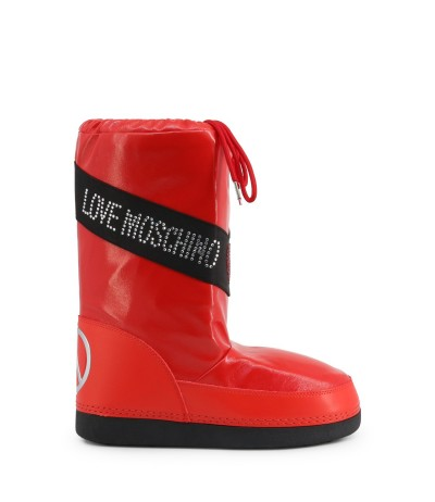 Love Moschino Patent Leather Boots