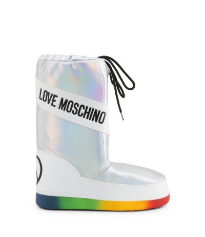 Love Moschino Ladies Boots with multicolour sole
