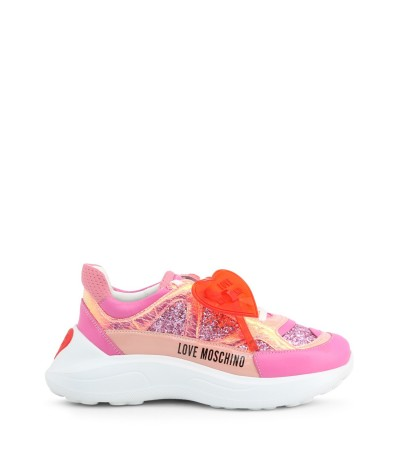 Love Moschino Heart Patch Sneakers - Multicolour