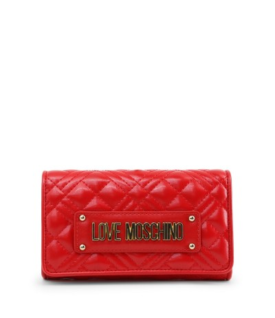 Love Moschino Snap Front Long Wallet