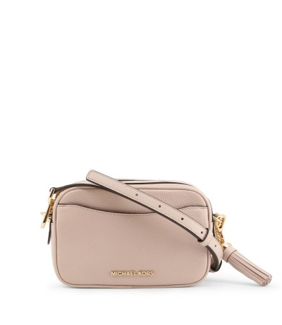Michael Kors Women's Pink Ginny Cross Body Bag