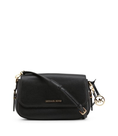 Michael Kors Convertible Black Textured Leather Cross-body Bag