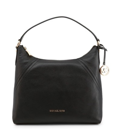 Michael Kors Crosby Large Pebbled Leather Shoulder Bag