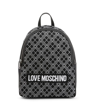 Love Moschino Black Superquilted  Backpack