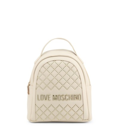 Love Moschino Beige Backpacks