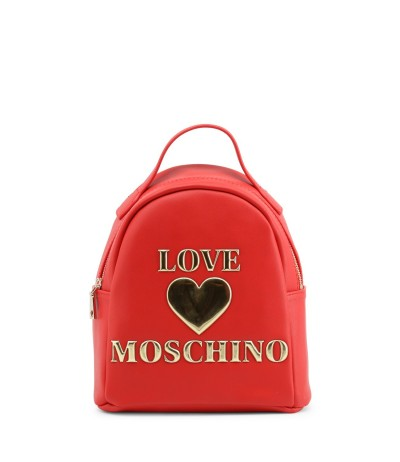 Love Moschino Textured Logo Backpack