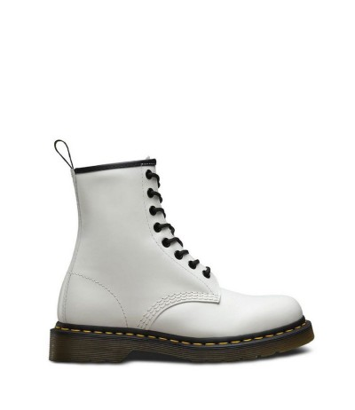 Dr Martens Lace-up Ankle Boots White