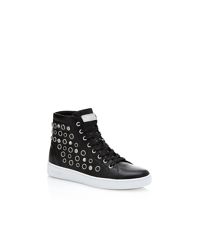Gerta Leather Sneaker with Studs