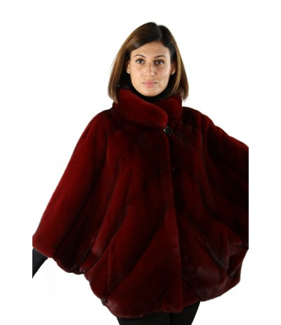 Mink Cape by Shelly Furs