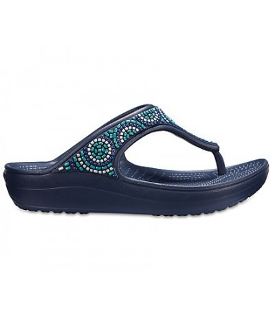 Crocs Sloane Beaded Flips