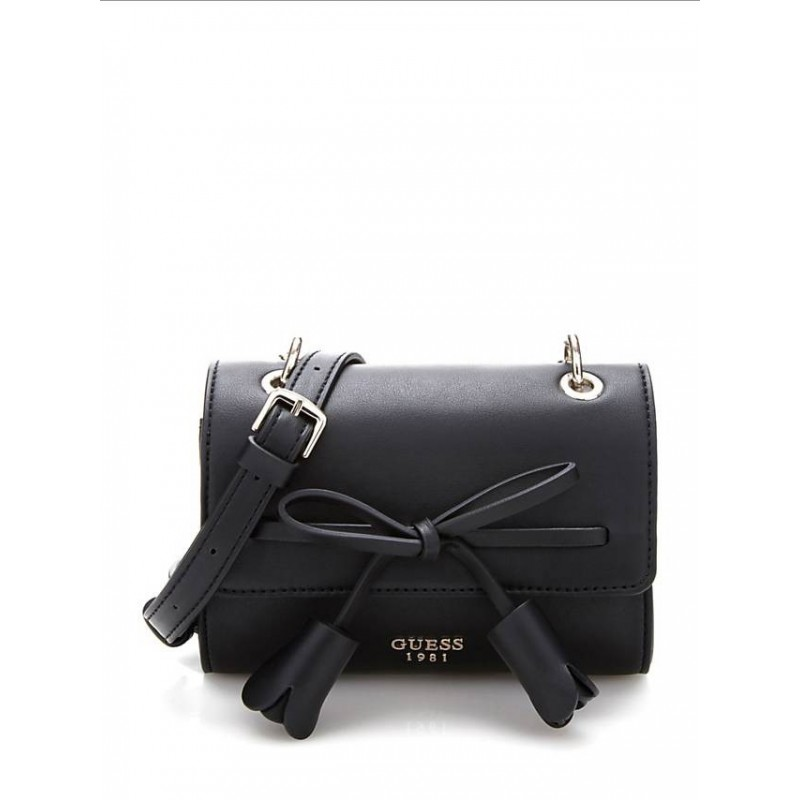 GUESS LEILA MINI CROSSBODY WITH BOW